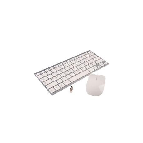 T+Raton UNYKA UK-338 WirelesUSB SuperSlim Blanco(50503)