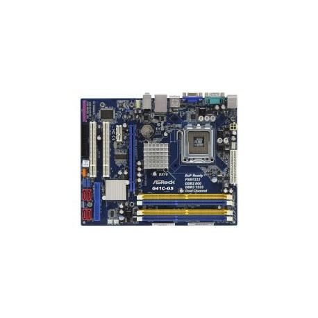 ASROCK G41C-GS R2.0 (775) 2XDDR2,2XDDR3,8GB